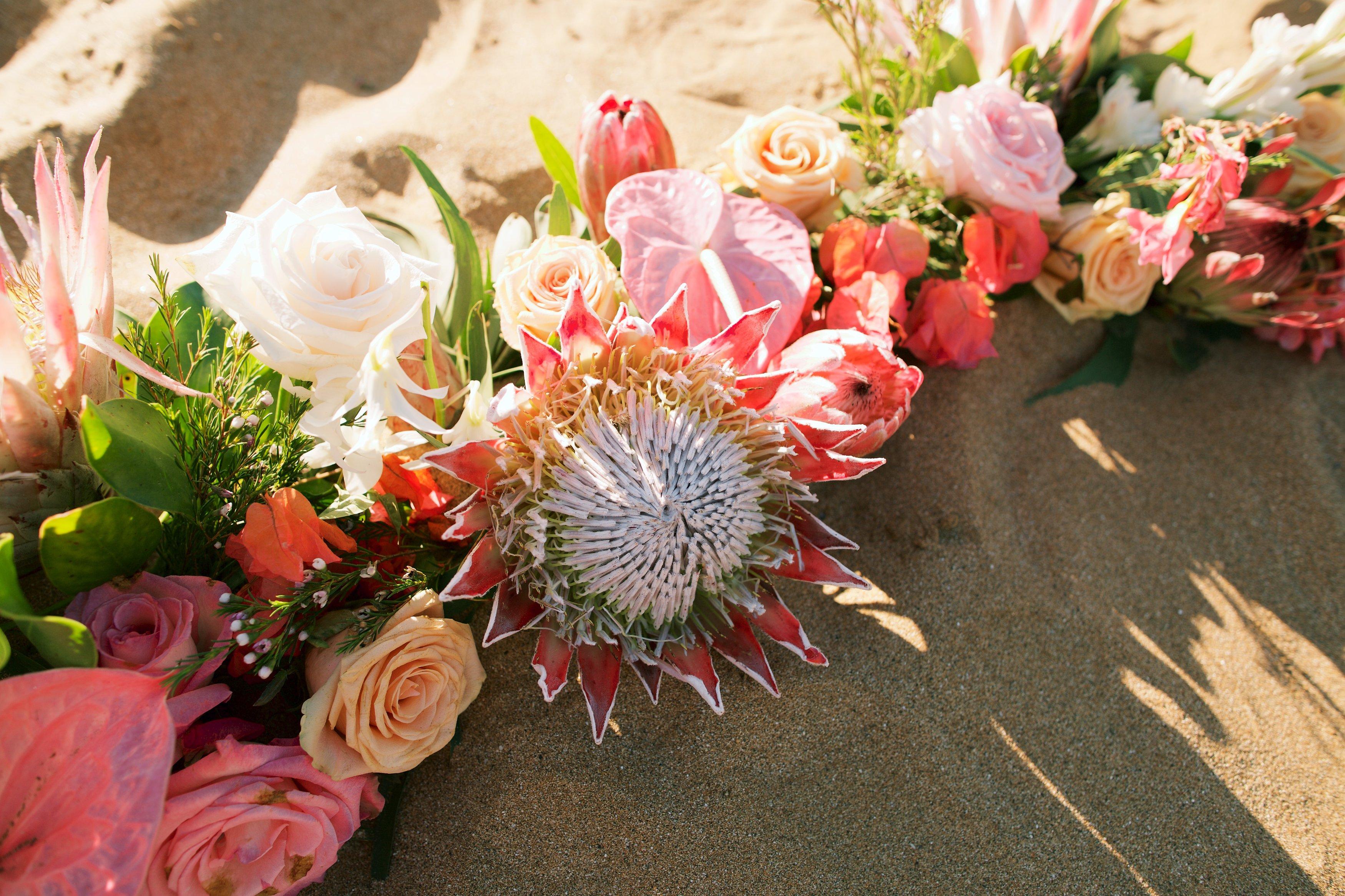 Maui Beach Wedding + Gannon's Reception: Jinny and Adam