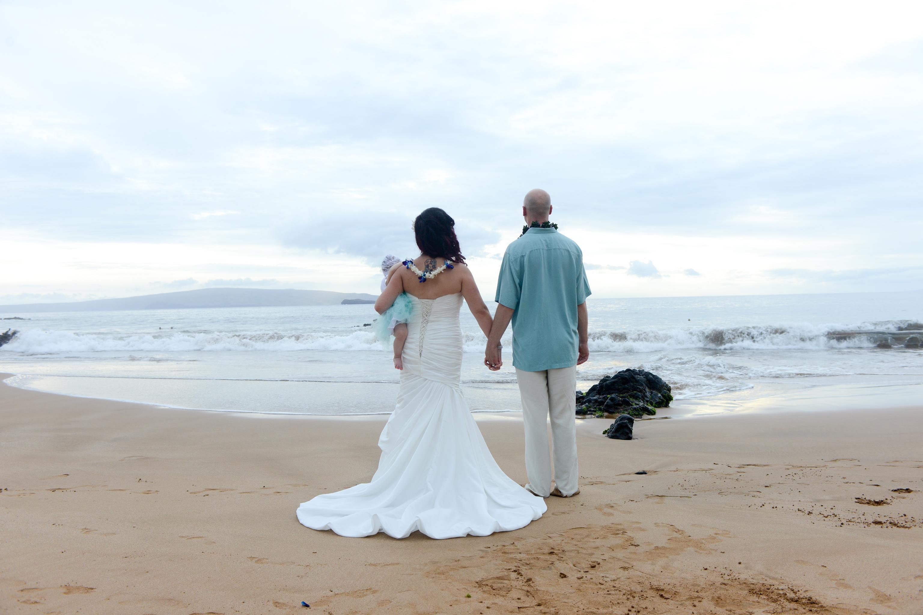 Maui Beach Wedding Bonnie And Allan
