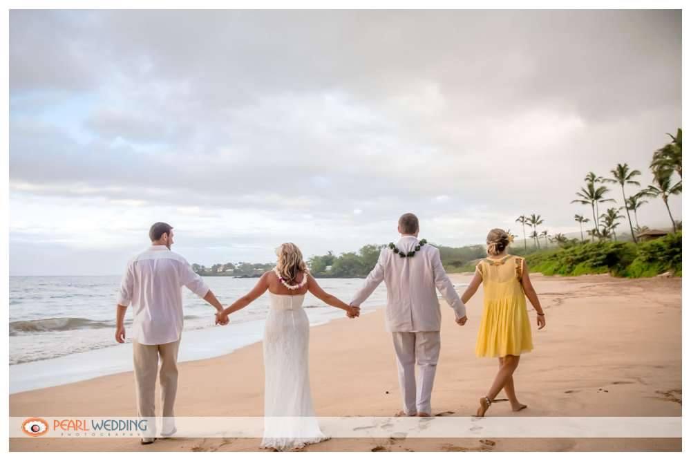 Maui Beach Wedding: Tammy & Kurt