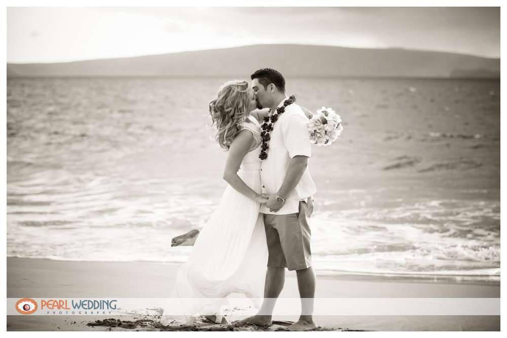 Maui Beach Wedding: Christy & Zack