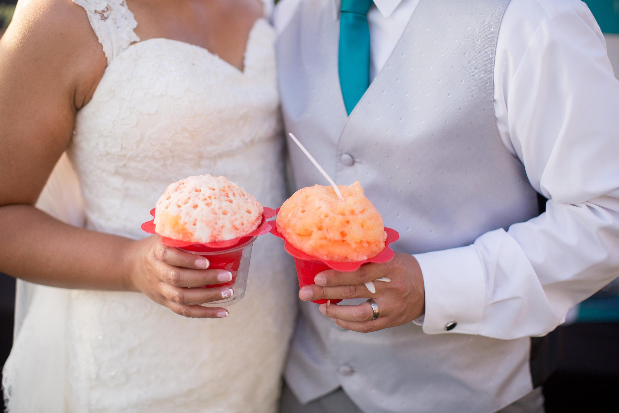 Delicious Wedding Details at Sugar Beach Events Venue
