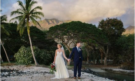 Romantic Maui Wedding – Olowalu Plantation House