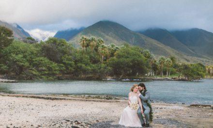 Beautiful Maui Wedding at the Olowalu Plantation House