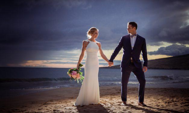 Romantic Maui Beach Wedding of Heidi + Michael