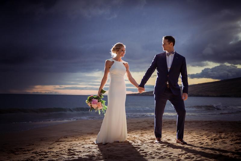 Romantic Maui Beach Wedding of Heidi + Michael - Makena Weddings