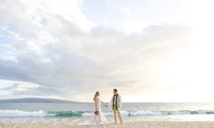 Gannon's Wailea Maui Wedding of Celeste + Travis