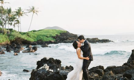 Ultra Romantic Maui Wedding at the Kukahiko Estate