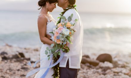 Olowalu Plantation House Maui Wedding of Crystal + Frisco