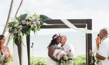 Sugar Beach Maui Wedding of Tyishia + Jerry