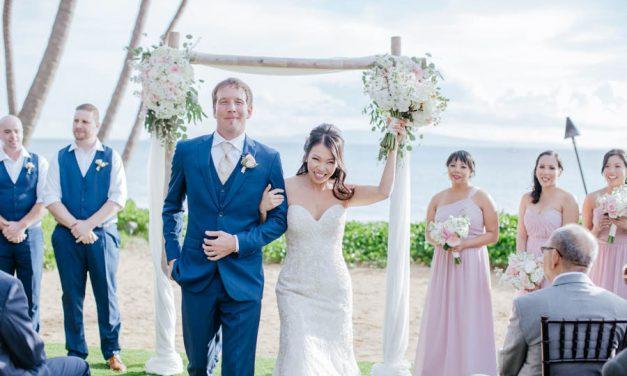 Sugar Beach Maui Wedding of Annette + Jeff