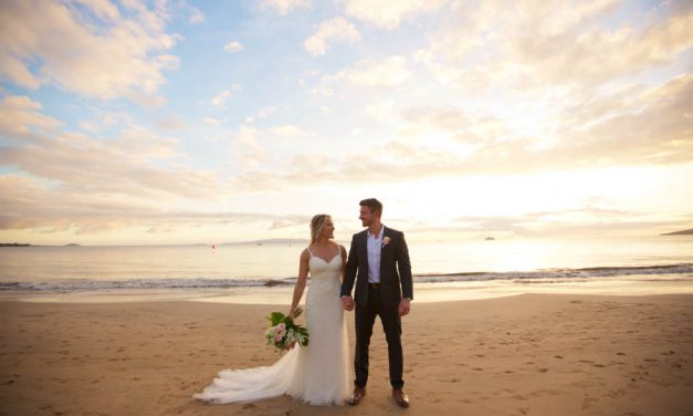 Romantic Sugar Beach Maui Wedding