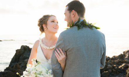 ROMANTIC MAUI WEDDING OF KAYLA + MATT AT THE KUKAHIKO ESTATE