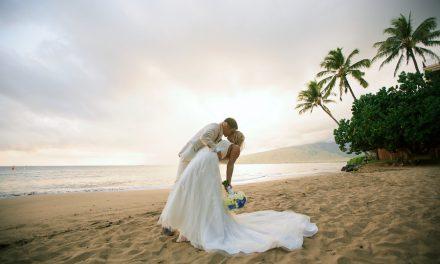 Something Blue Maui Wedding of Jamie + Evan