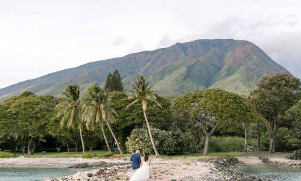 Olowalu Maui Wedding: Stacy + Daniel