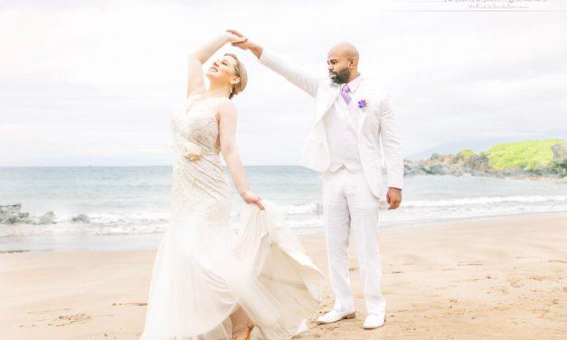 Maui Beach Wedding: Cindy + Barnett