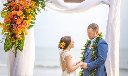 Olowalu Maui Wedding: Marianne + Brian
