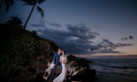 Gannon's Wailea Maui Wedding: Jaime + Piotrek