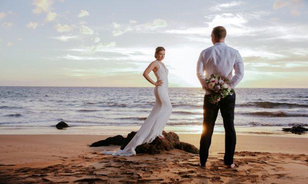 Maui Beach Wedding: Amra + Robert