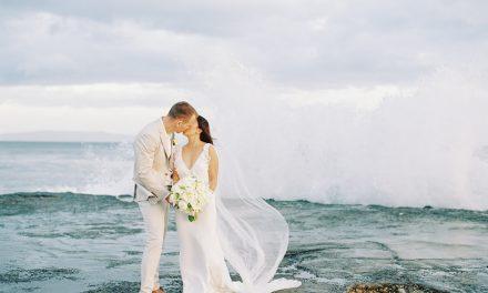 Maui Destination Wedding: Marie + Aaron