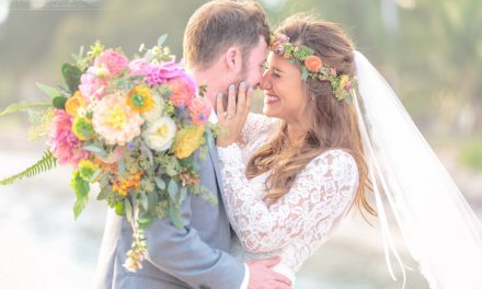 Olowalu Plantation House Boho Tropical Wedding