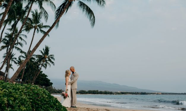 Romantic Maui Wedding: Sugar Beach Events Venue