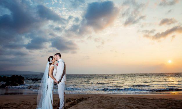 Tropical Wedding Romance at Gannon's Wailea