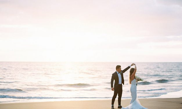 Romantic Maui Wedding at Gannon's