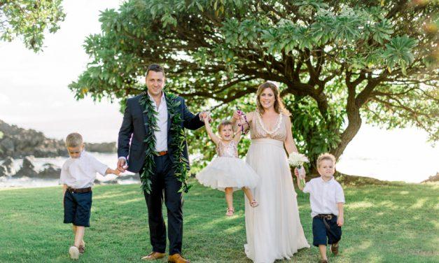 Family Wedding on Maui