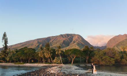 Olowalu Plantation House Maui Wedding: Lisa + Josh