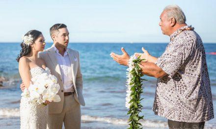 Maui Beach Wedding: Trisha + Blake