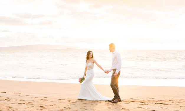 Intimate Maui Wedding at Gannon's Wailea
