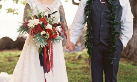 Romantic Maui Wedding at the Kukahiko Estate