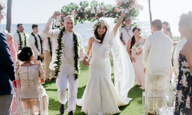 Blush Maui Wedding at Sugar Beach Events