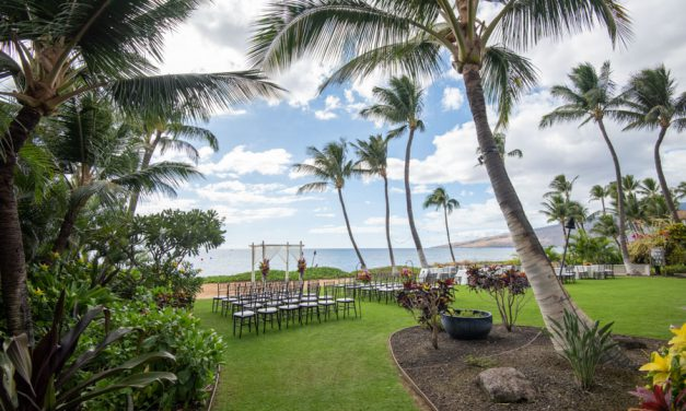 Tropical Maui Wedding at Sugar Beach Events