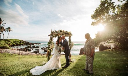 Romantic Maui Elopement at the Kukahiko Estate