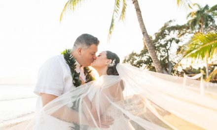 Bright + Tropical Wedding at the Olowalu Plantation House