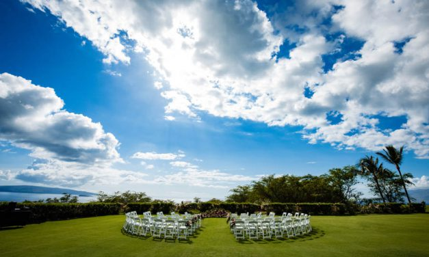 Romantic Maui Wedding at Gannon's Wailea