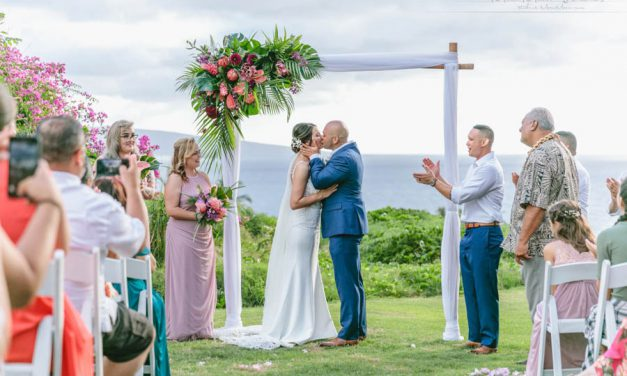 Sweet + Simple Maui Wedding at Gannon's Wailea