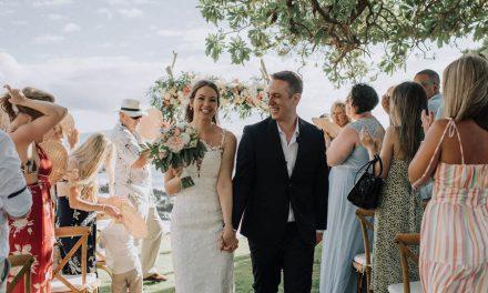 Intimate Wedding at the Kukahiko Estate