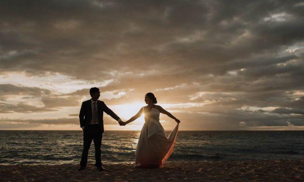 Fall Inspired Wedding at Gannon's Wailea
