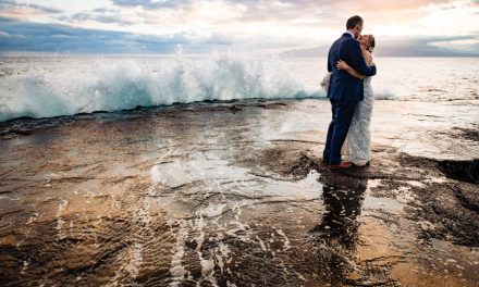 Tropical Fall Wedding on Maui