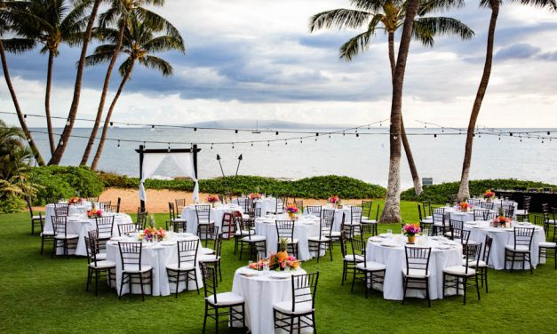 Affordable Maui Wedding at Sugar Beach Events