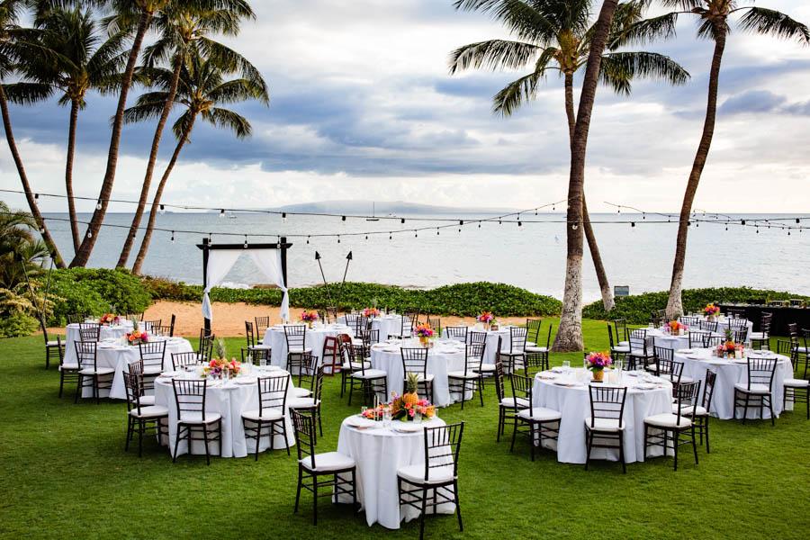 Affordable Maui Wedding at Sugar Beach Events