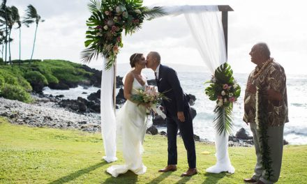 Blush Tropical Maui Wedding at the Kukahiko Estate