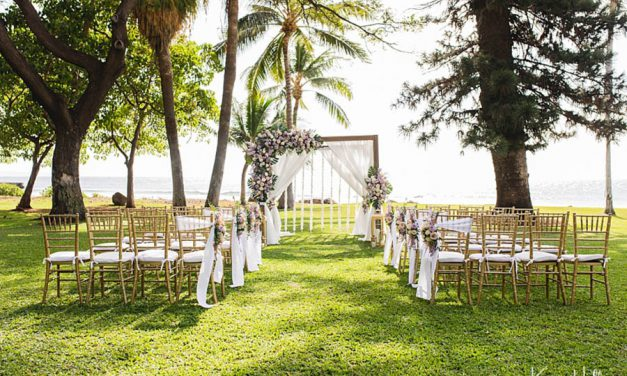 Wedding Sneak Peek: Olowalu Plantation House
