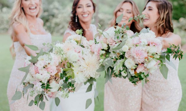 Luxury Blush and White Wedding on Maui