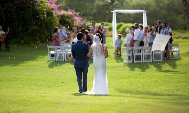 Understated Elegant Maui Wedding at Gannon's Wailea