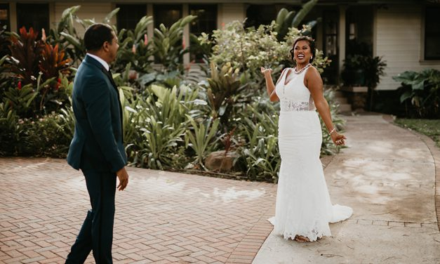 The Wedding Dress Reveal