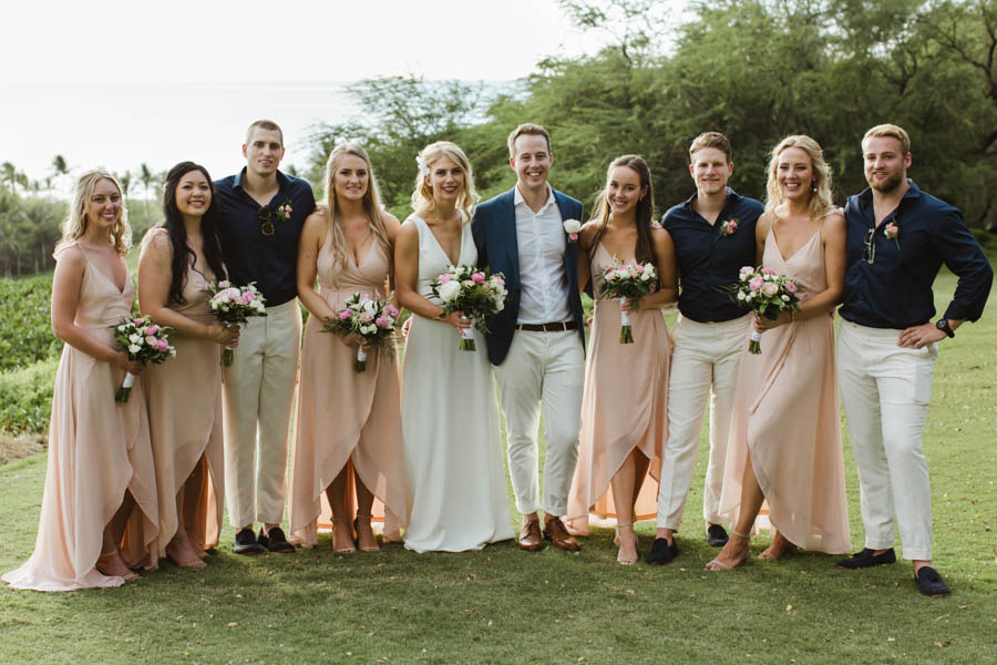 Blush Maui Wedding at Gannon's Wailea
