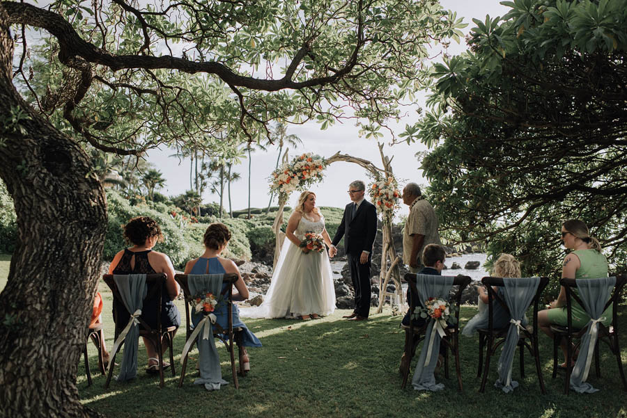 Family Elopement at the Kukahiko Estate
